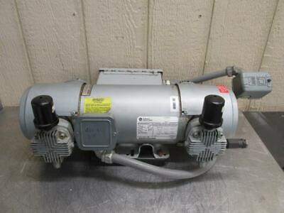 Gast 8hdm-10-m853 Air Compressor Vacuum Pump Oilless 3 Ph 230460v 2 Hp