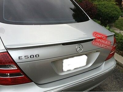Used, Painted M-BENZ 03-09 W211 E-class Sedan AMG type trunk spoiler color-368 ◎ for sale  Shipping to Canada