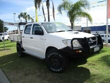 2008 Toyota Hilux KUN16R MY08 SR White 5 Speed Manual Utility Wangara Wanneroo Area Preview