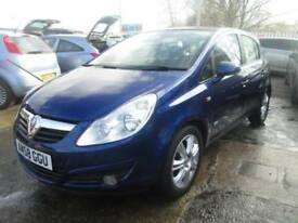 Vauxhall Corsa 1.4 i 16v Design 5dr (a/c) Good / Bad Credit Car Finance (blue) 2008