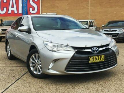 2016 Toyota Camry AVV50R MY15 Altise Hybrid Silver Continuous Variable Sedan Belconnen Belconnen Area Preview