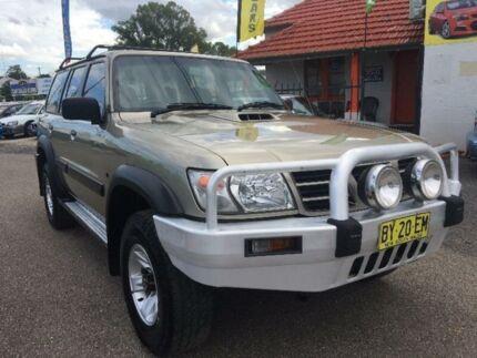 2003 Nissan Patrol GU III ST Automatic Wagon
