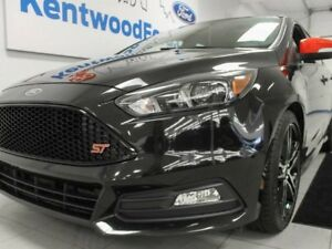 2015 Ford Focus ST 6-SPD FWD manual with NAV, heated power leath