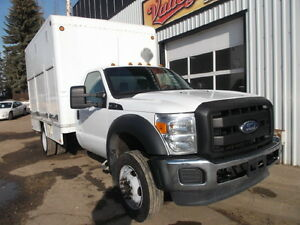 2012 FORD F450 SD 2WD WITH VAN BODY