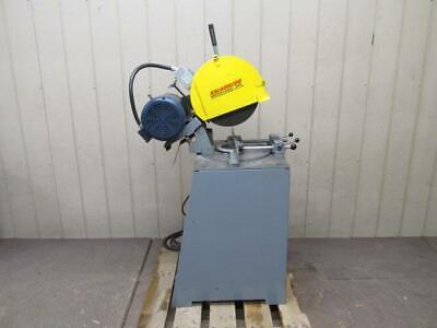 Kalamazoo Km14 Cutoff Saw 14 Single Cut Chop Saw Abrasive Non-ferrous 5 Hp