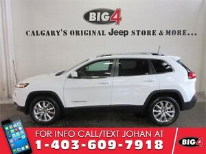 2016 Jeep Cherokee Limited, Leather, V6, Pano Roof
