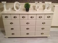 15 x Drawers Merchants Style Chest Super Condition POSS DELIVERY F&B