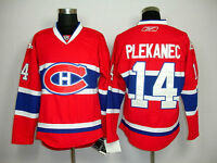 BRAND NEW THOMAS PLEKANEC MONTREAL CANADIENS RBK JERSEY SMALL/ M