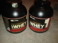 2 x 5lb Optimum Nutrition Gold Standard 100% Whey Protein