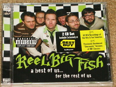 REEL BIG FISH Best Buy EXCLUSIVE CD w/ BONUS Acoustic CD! For The Rest Of Us