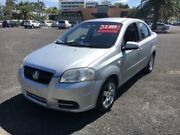 2006 Holden Barina TK Silver 4 Speed Automatic Sedan Cabramatta Fairfield Area Preview
