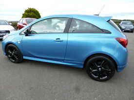 Vauxhall Corsa LIMITED EDITION ECOFLEX (blue) 2016-07-30