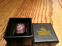 """TRADE"" Molson Stanley Cup Ring ""Looking For Boston Bruins"""