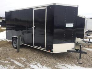Brand New Look 6x14 Enclosed Utility Trailer