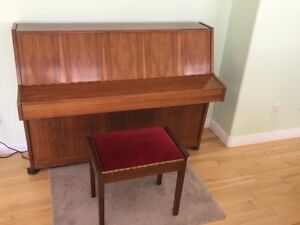 Upright Piano and Chair  for Sale - Come and make an Offer