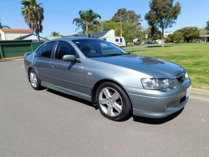 2003 Ford Falcon BA XR6 Silver 4 Speed Sports Automatic Sedan Somerton Park Holdfast Bay Preview