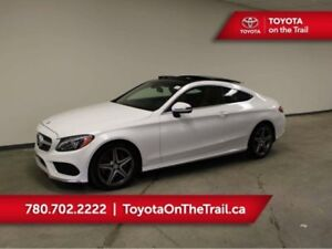 2017 Mercedes-Benz C-Class C 300 COUPE; AMG APPEARANCE, PANORAMI