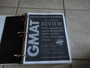 GMAT Official Guide 12th edition