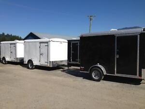 Cargomate Blazer 6x12 cargo trailer with rear ramp