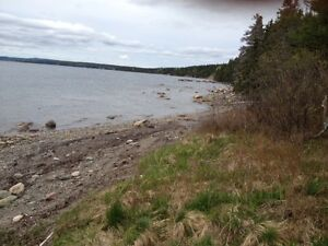 Beautiful ocean front property, almost 4 Acres Near Clarenville
