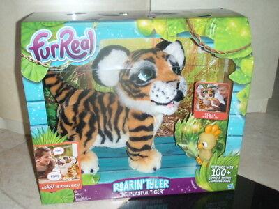 Furreal Roarin Tyler The Playful Tiger Pet   Fur Real Roaring Playful Tiger Wow
