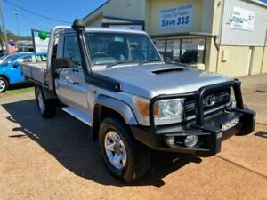2007 Toyota Landcruiser VDJ79R GXL (4x4) Silver 5 Speed Manual Cab Chassis Port Macquarie Port Macquarie City Preview