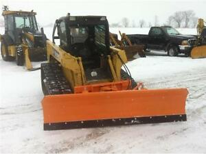 8 Foot Skid Steer Snow Plow