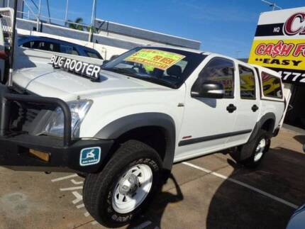 GRAB IT TODAY FROM $109 P/WEEK* MAN 2008 HOLDEN RODEO LX CREWCAB Townsville 4810 Townsville City Preview