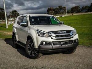 2019 Isuzu MU-X MY19 LS-U Rev-Tronic White 6 Speed Sports Automatic Wagon Christies Beach Morphett Vale Area Preview