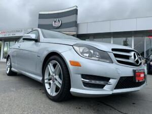 2012 Mercedes Benz C-Class C250 COUPE TURBO AMG SPORT PKG ONLY 1