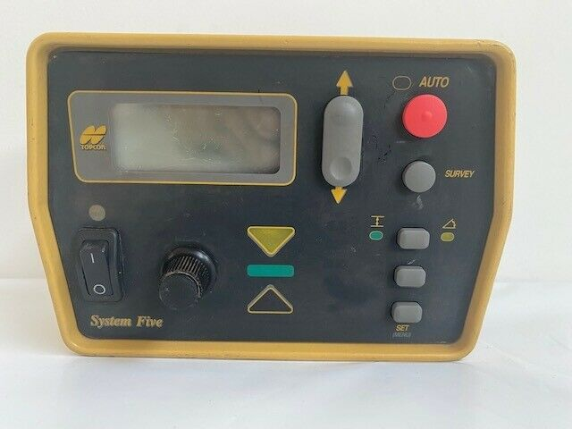 Topcon 9256 9256-0002 System 5 Five Paver Machine Control Box Used