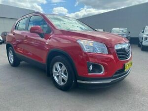 2015 Holden Trax TJ MY15 LS Red 6 Speed Automatic Wagon Cardiff Lake Macquarie Area Preview