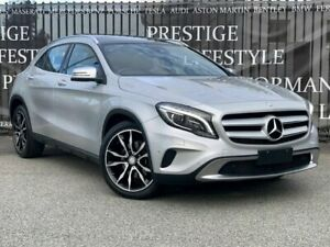 2014 Mercedes-Benz GLA-Class X156 GLA250 DCT 4MATIC Silver 7 Speed Sports Automatic Dual Clutch Bayswater Bayswater Area Preview