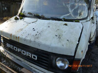 Bedford Cf breaking for spares or repair. Many parts including engine convertion .