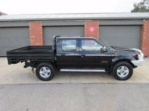 2006 Nissan Navara D22 ST-R (4x4) Black 5 Speed Manual Dual Cab Pick-up