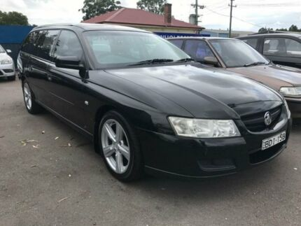 2005 Holden Commodore VZ Executive Black Automatic Wagon