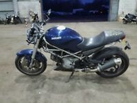 Ducati Monster M620 2002 swap part ex car can bike