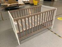 SUNDVIK Cot, white/brown70x140 cm IKEA Wembley #BargainCorner