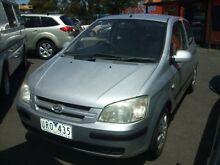 2004 Hyundai Getz TB GL 4 Speed Automatic Hatchback Frankston Frankston Area Preview