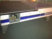 Air Hockey table for trade or sale full size real coin op arcade