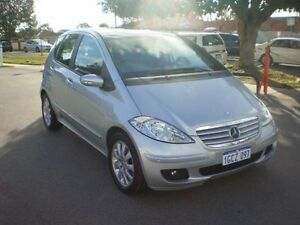 2007 Mercedes-Benz A200 W169 Elegance Silver 7 Speed CVT Auto Sequential Hatchback Victoria Park Victoria Park Area Preview
