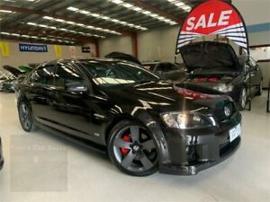 2008 Holden Commodore VE SS Black 6 Speed Sports Automatic Sedan
