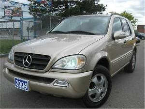 2004 Mercedes-Benz M-Class 3.7L Classic 125K PRICED TO SELL FAST
