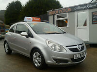 2007 VAUXHALL CORSA 1.3 CLUB A/C CDTI GROUP 3 INS £30 TAX . ALL CREDIT/DEBIT CARDS ACCEPTED