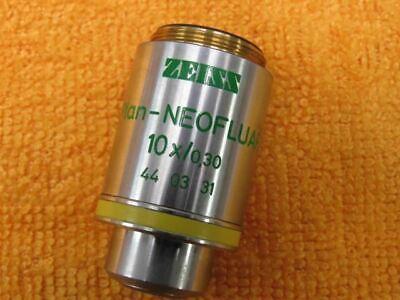 Zeiss Axioskop Plan Neofluar 10x 030 44 03 31 Objective