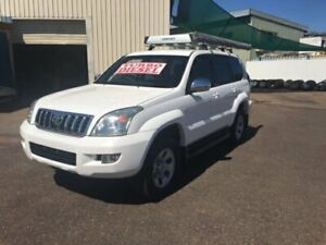 2006 Toyota Landcruiser Prado KZJ120R GX (4x4) White 4 Speed Automatic Wagon Berrimah Darwin City Preview