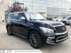 2015 Infiniti QX80 LIMITED/TECH PKG/LANE DEPARTURE/BLIND SPOT/DV