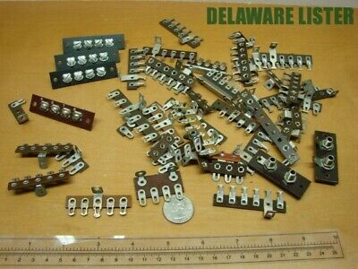 Mixed Lot Of Vintage Wiring Wire Electric Terminal Connectors Blockstrip Nos