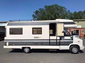 Fiat Hobby Coach Built Motor Home. Full Mot 2500cc 5 speed diesel..left hand drive, cambelt done