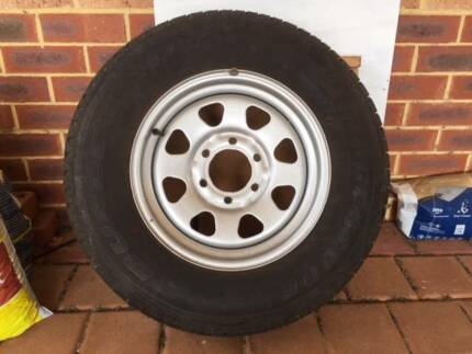 NISSAN Spare Tyre with Rim